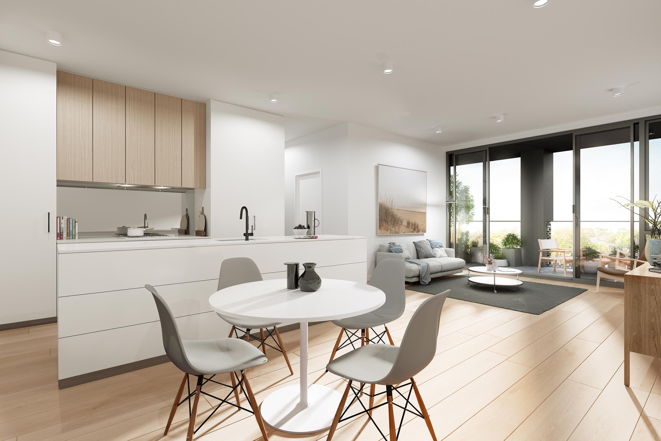 Benjamin Raymond Living - Property Development Melbourne home